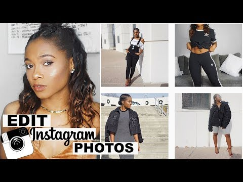 How I Finesse Instagram | Editing Photos For Instagram Tips and Tricks | Trishonnastrends