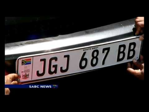Car number plate  industry take N West Government to court