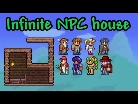 ★ Build Tutorial: Infinite NPC House | Terraria (Mobile & Console)