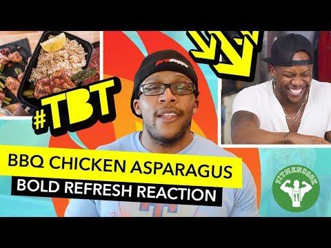 Recipe Refresh - BBQ Chicken Wrapped Asparagus / Pollo Enrollado con Espárrago