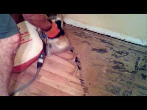 Hand Sanding & Restoring Wood Floors,  Historical Homes  Phoenix, Arizona