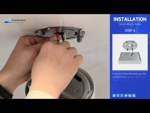 How to Install Flush Mount Ceiling Light
