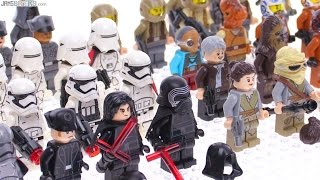 All LEGO Star Wars Force Awakens Minifigs Jan. 2016 update!