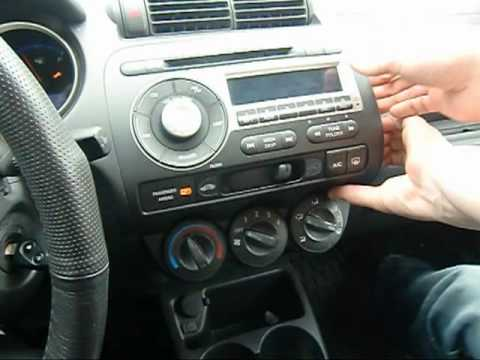GTA Car Kits - Honda Fit 2006-2008 install of iPhone, Ipod and AUX adapter for factory stereo