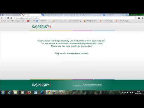 Exclusively, get the activation of Kaspersky free for 90 days