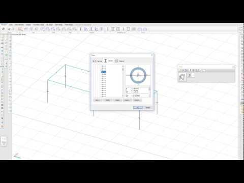 Portal frame design in FEM-Design