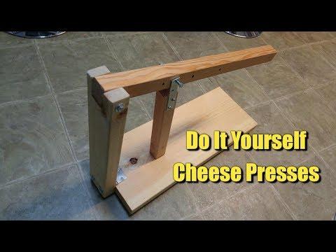 DIY Cheese Presses You Can Make At Home!