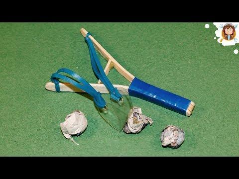 How to Make a Slingshot - (Mini Slingshot)