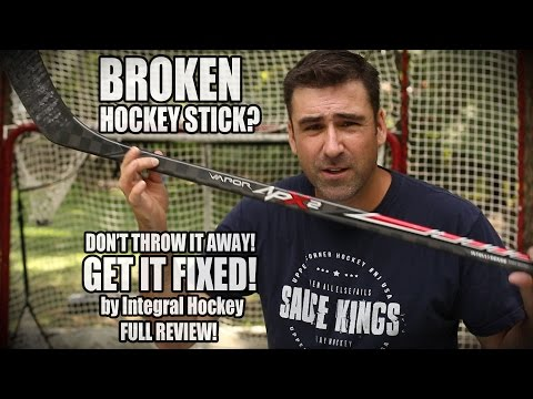 Fix your broken ice Hockey Stick with Intergral Hockey full review