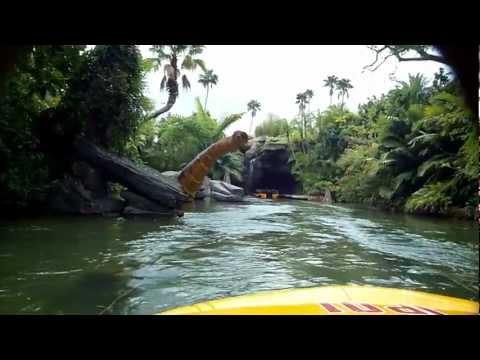 Jurassic Park ride front row seat, Universal Studios Orlando