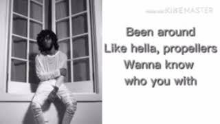 6jack J Cole Pretty Little Fears Lyrics