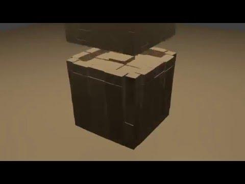 Blender: 2 Blocks Colliding (Basic)