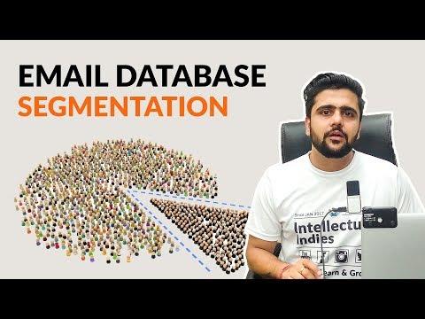 Email Database Segmentation | Hindi | Email Marketing | Digital Marketing Series