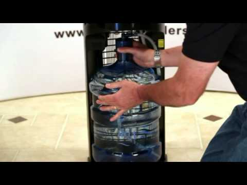 Initial Set Up Procedure – Crystal Mountain, Storm Bottom Load Water Cooler