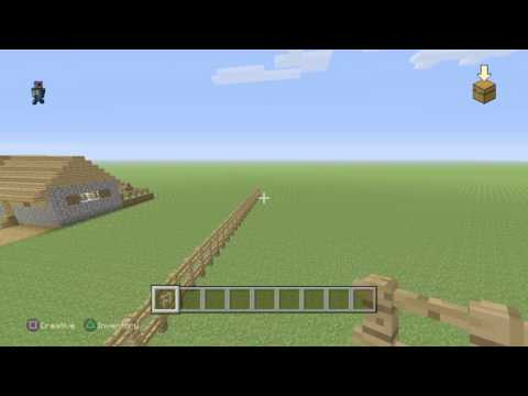 Minecraft ps4 gameplay #2 The border