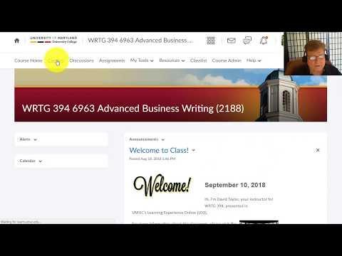 WRTG 394 Advanced Business Writing - Week 1 Assignment Overview