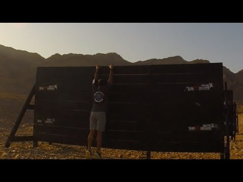 How to climb the Spartan 8 foot Wall