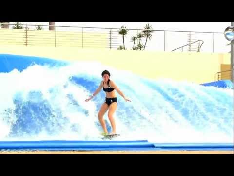 Enjoy Wave House Sentosa funny  wave surfing HD   The PassionTve