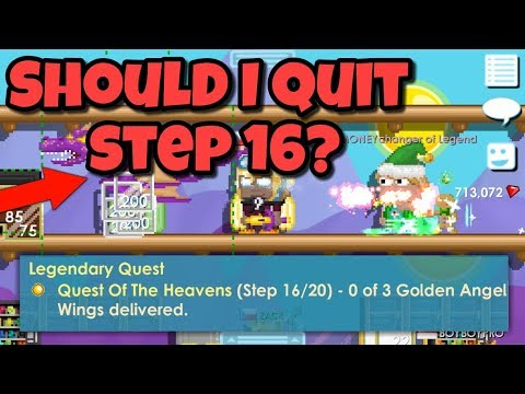 Should i QUIT Step 16? | Growtopia