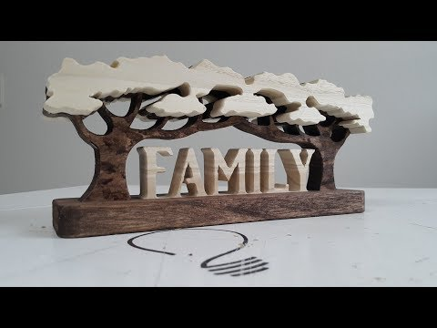 How to Make a Family Word Art