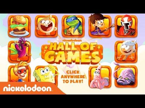 NickGamer | Hall of Games w/ SpongeBob, Power Rangers, & More! | Nick