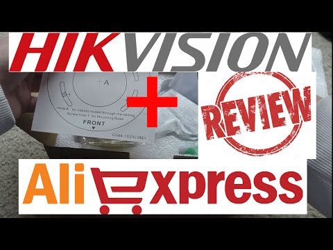 Hikvision Aliexpress Order Unboxing Review: DS-2CD2532F-IWS: Part 1
