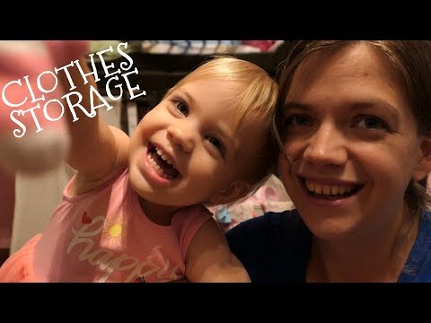 Kid's Clothing Storage || Simple and Inexpensive