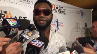 David Ortiz nervous to get roasted by Dustin Pedroia at Ortiz Charity Celebrity Roast