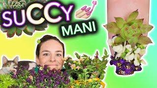Succulent Nails (a garden hoe tutorial)
