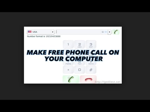 How To Make FREE Phone Calls On Your Laptop or Desktop Computer!