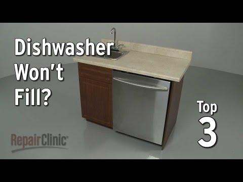 Dishwasher Won't Fill With Water — Dishwasher Troubleshooting