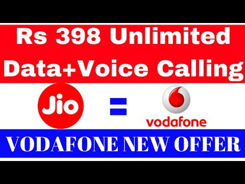 Vodafone New Unlimited Data and calling Plan's 😎😎