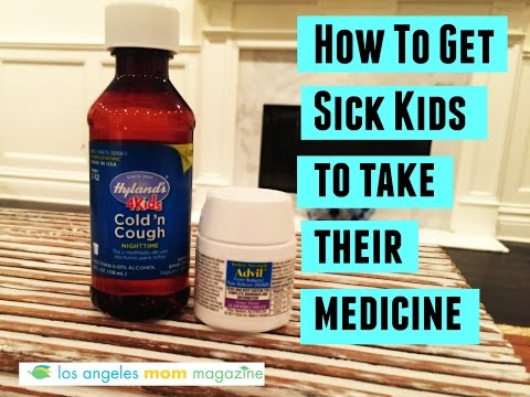 How To Get Sick Kids To Take Their Medicine!