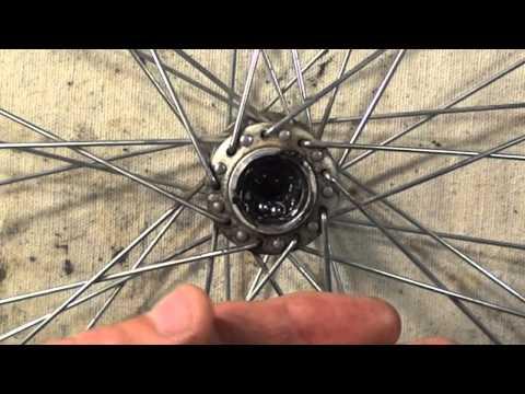 Repairing A Loose Bike Wheel - Hub Overhaul