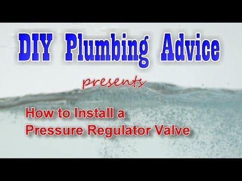 Installing a Pressure Regulator using Sharkebite™ fittings