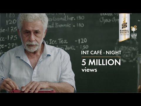 Interior Cafe Night   Naseeruddin Shah   Royal Stag Barrel Select Large Short Films