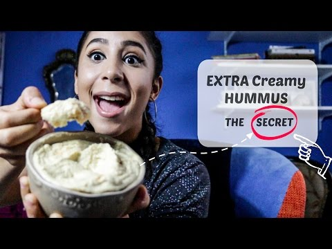 How to make CREAMY Hummus