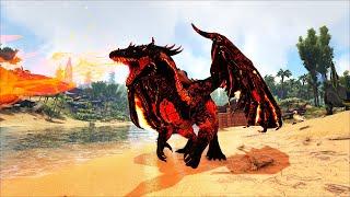 ARK: Annunaki #7 - Khám Phá Hang Động Đảo Xương Và Taming Siêu Rồng Lửa Badass Drake 😉