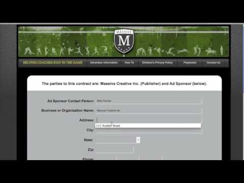 USL Playbook - How To Use the Ad Sponsor Fundraising Tool