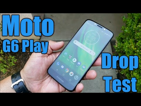 Moto G6 Play Drop Test - Will it survive?