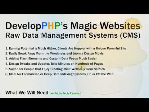 Intro: How to Build Custom PHP and MySQL CMS Website Software