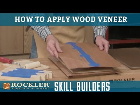 How to Apply Wood Veneer | Rockler Skill Builders