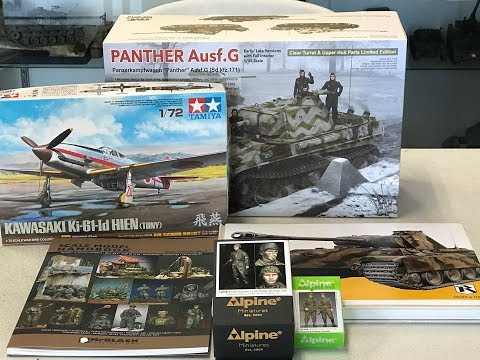 New Releases from Tamiya, Ryfield models, Alpine MIniatures and more