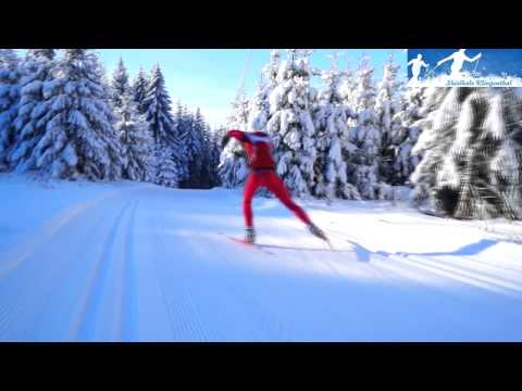 xc-skiing: downhill techniques