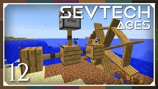 Sevtech: Ages | Better With Mods Water Wheel & Bucket! | E12 (SevTech Ages  Modpack) - getplaypk
