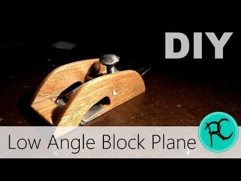 Making a low angle rabbet plane