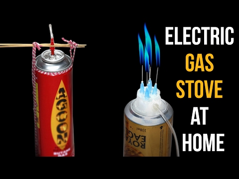 How to make an electric gas stove at home! DIY Electric gas stove