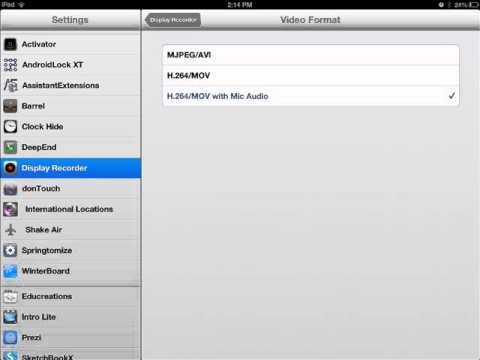 How to add voice to display recorder-2013