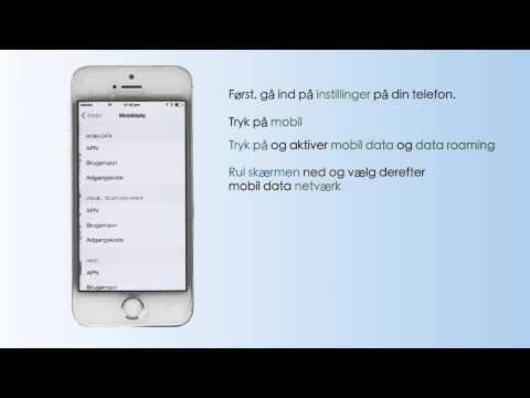 Internetindstillinger Danmark - iPhone