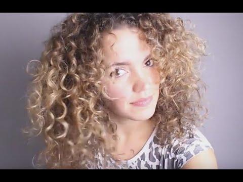 CURLY HAIR Tutorial: Fine Thin Curly Hair to BIG HAIR!